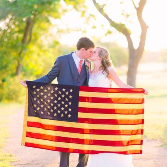 Vintage Americana Wedding Decor