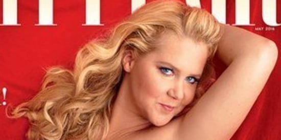 Amy Schumer Is A Red-Hot Pinup On The Cover Of Vanity Fair