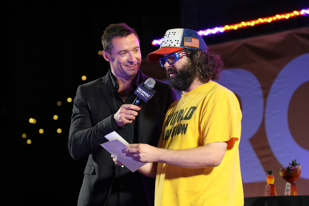 Hugh Jackman and Judah Friedlander