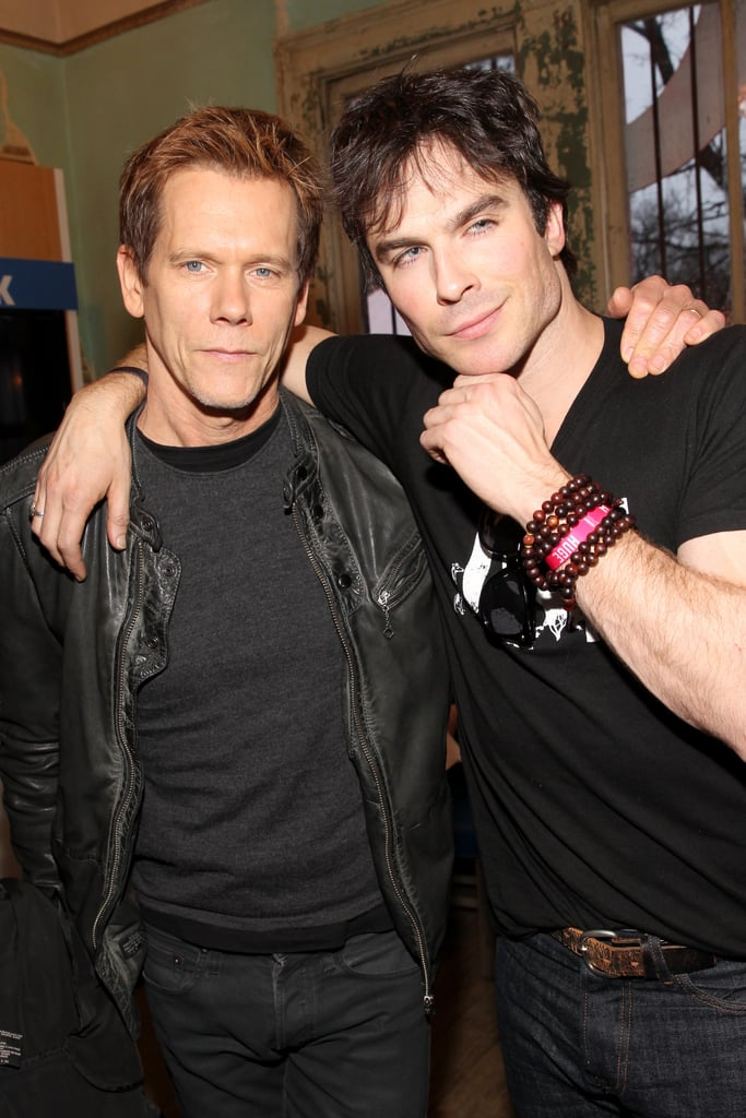 Ian Somerhalder and Kevin Bacon linked up at SXSW.