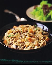 Fast and Easy Recipe For Chicken and Mushroom Risotto