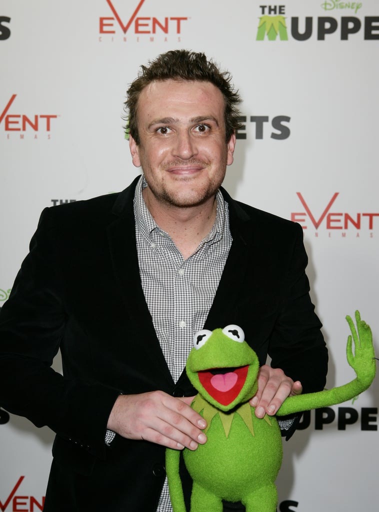 Jason Segel and Kermit the Frog