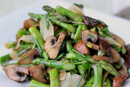 Marinated Mushroom and Asparagus Salad
