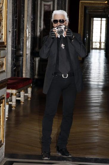 Karl Lagerfeld's Kodak Moment