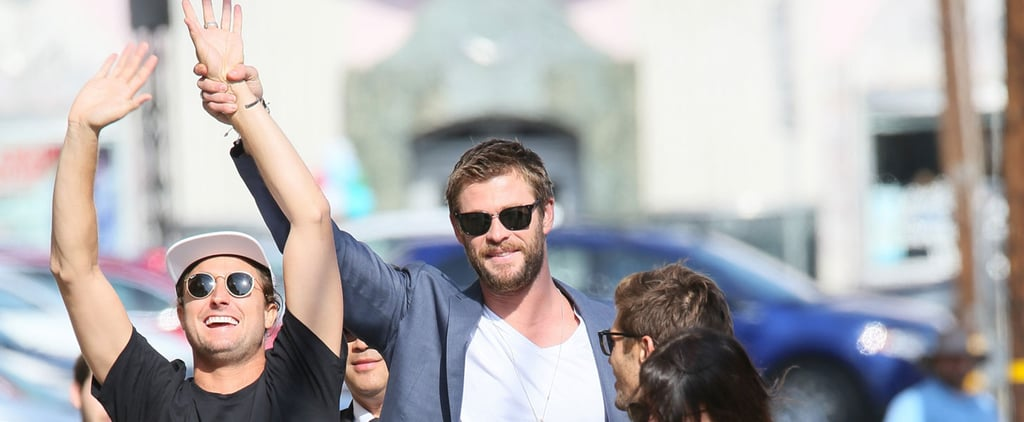 Chris Hemsworth Steps Out in LA, Makes Everyone Around Him Celebrate
