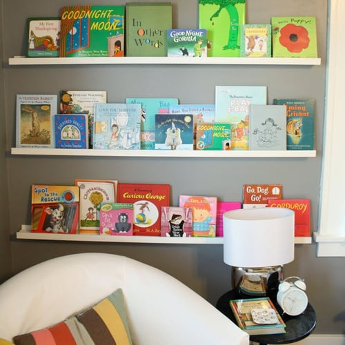 Storage Solutions For Kids' Books