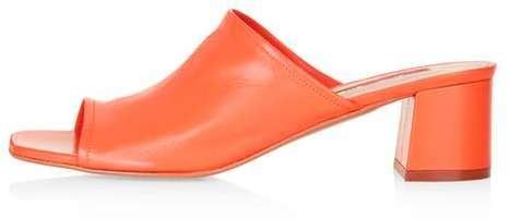 Topshop Nino Soft Unlined Mules ($100)