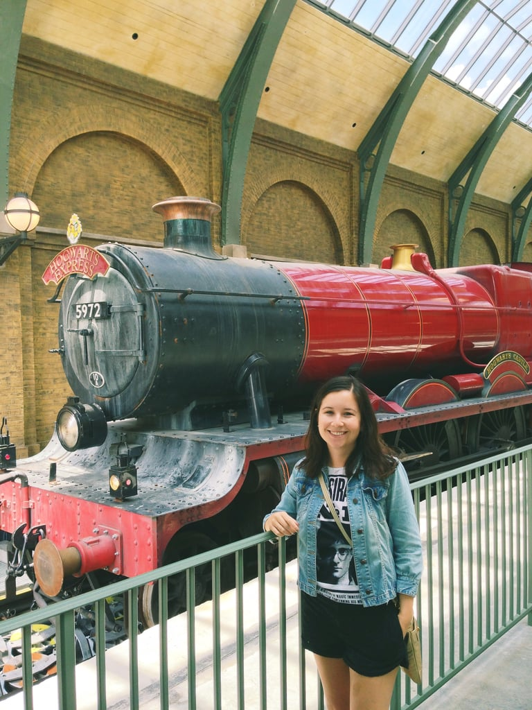 The exterior of the Hogwarts Express is impressive. But the interior is what really gives you goosebumps.