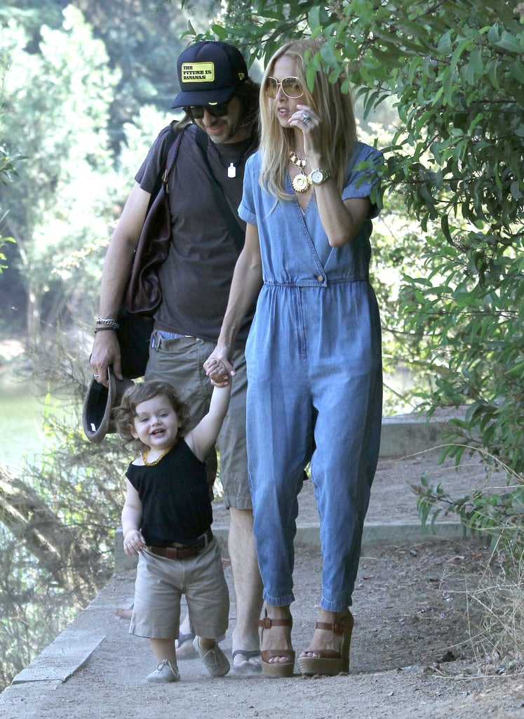 Rachel Zoe Takes Her Boys and High Heels to the Park
