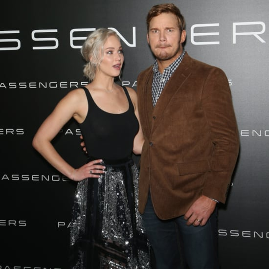 Jennifer Lawrence and Chris Pratt at CinemaCon 2016