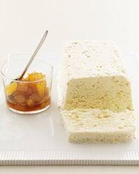 Almond Semifreddo With Caramelized Apple Recipe