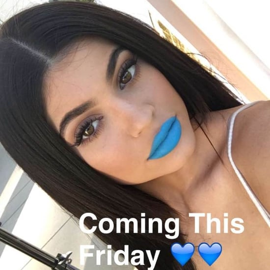 Kylie Jenner Launches Blue Lip Kits