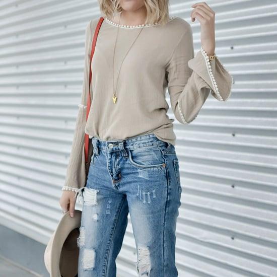 Stylish Ways to Wear Boyfriend Jeans
