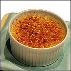 Corn Creme Brulee