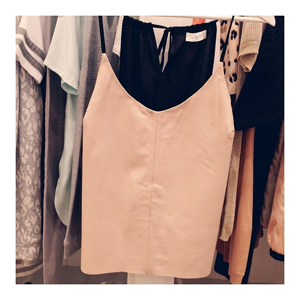 Swooooon. This leather cami by Seed is all kinds of excellent.