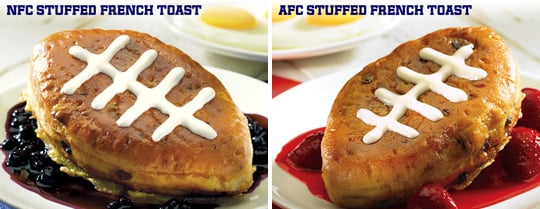 IHOP Restaurants Introduce NFL-Themed, Football-Shaped French Toast