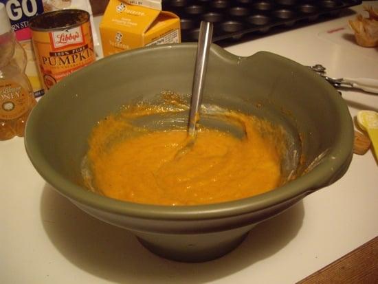 Pumpkin Pie with Baklava Twist