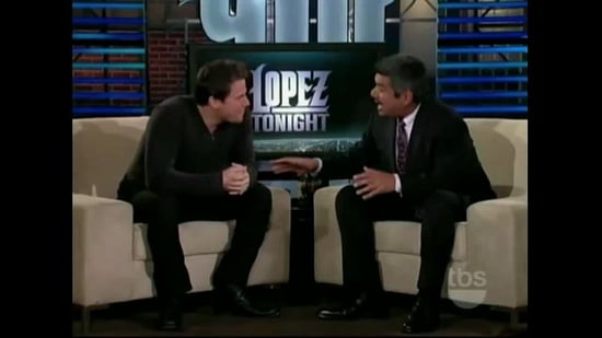 Video of Channing Tatum on Lopez Tonight