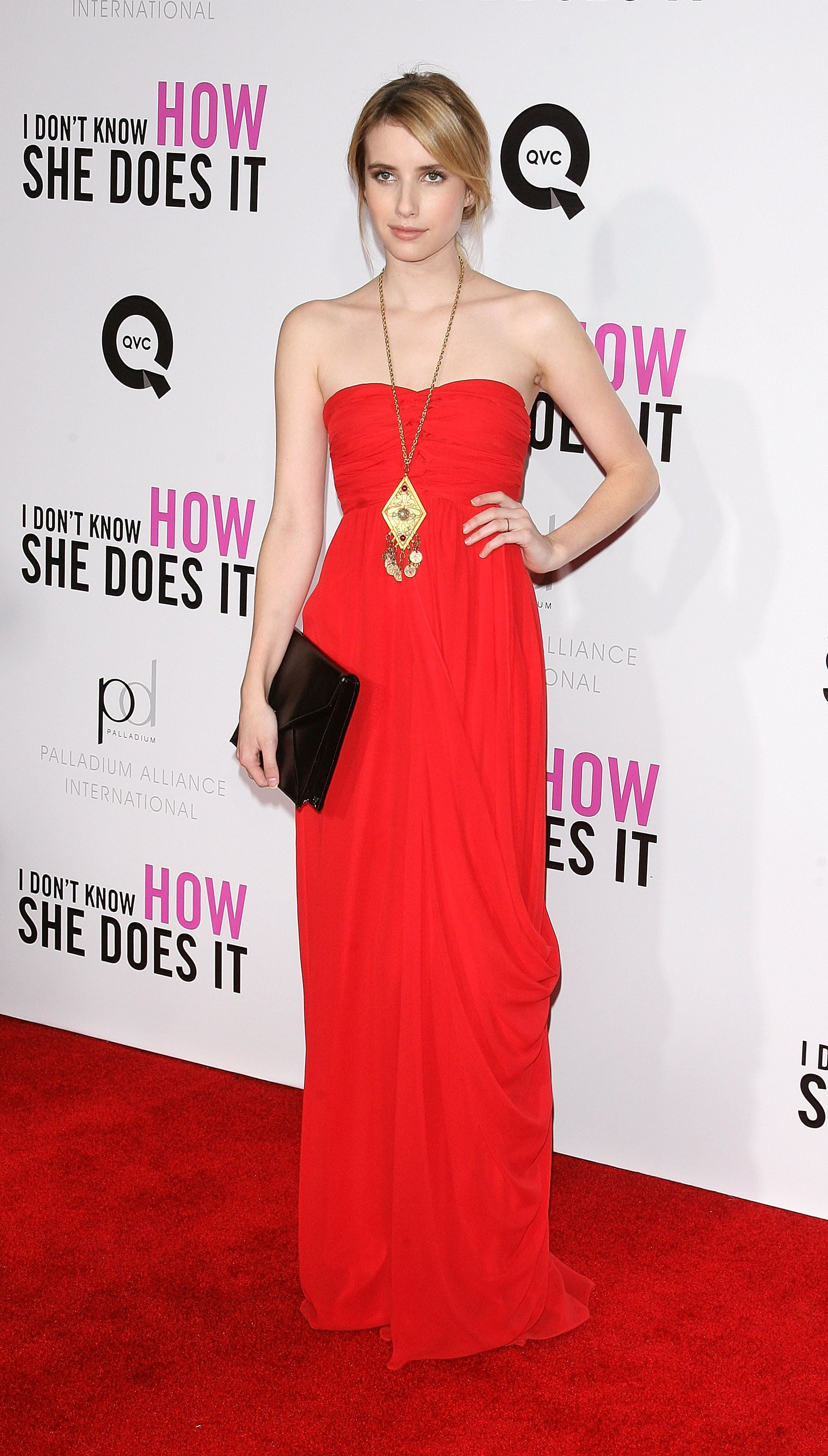 Emma had a real red carpet moment in Tibi at the premiere of I Don't Know How She Does It in September 2011.