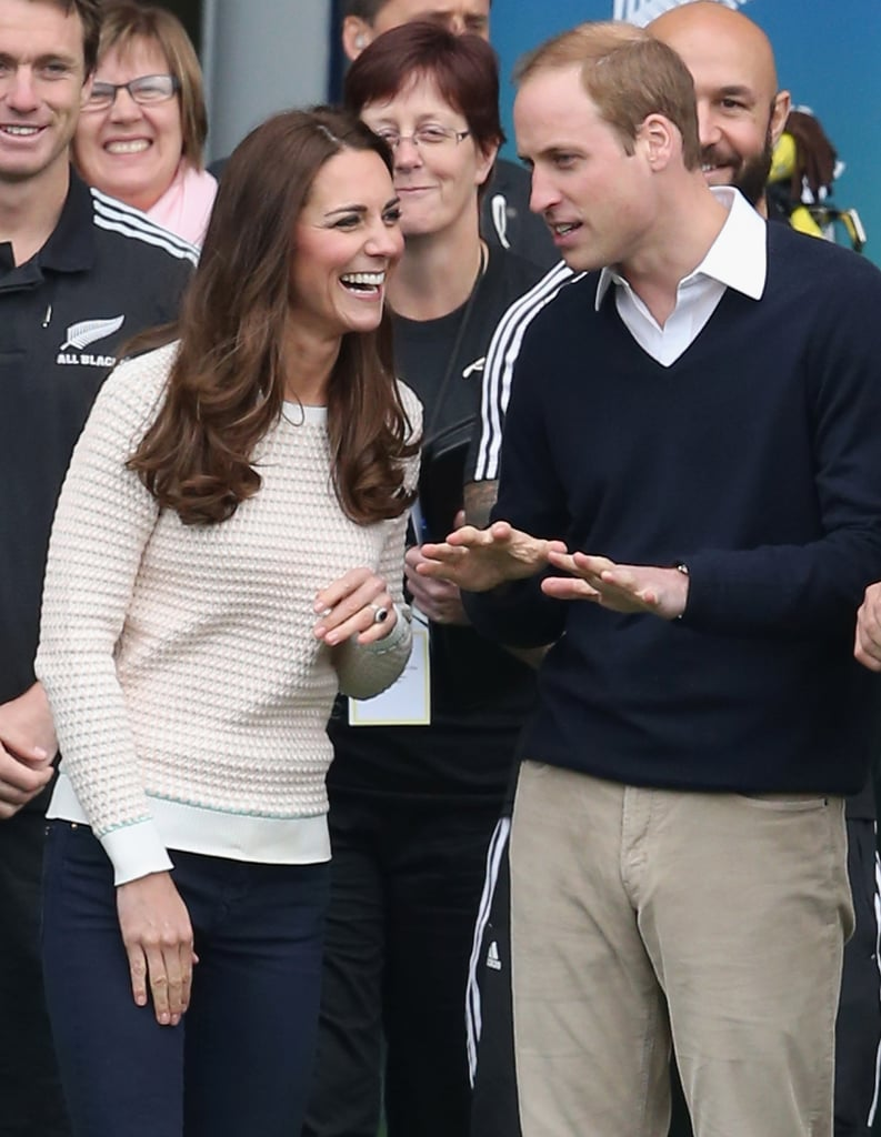 Kate Laughed at Will's Jokes