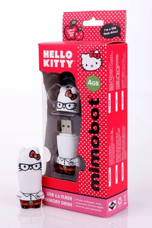 Hello Kitty Nerd Kitty Mimobot Flash Drive