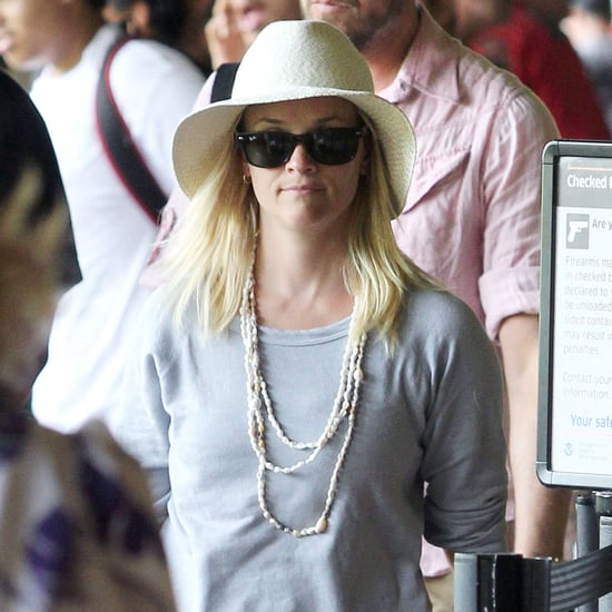 Pictures of Reese Witherspoon and Family Leaving Hawaii