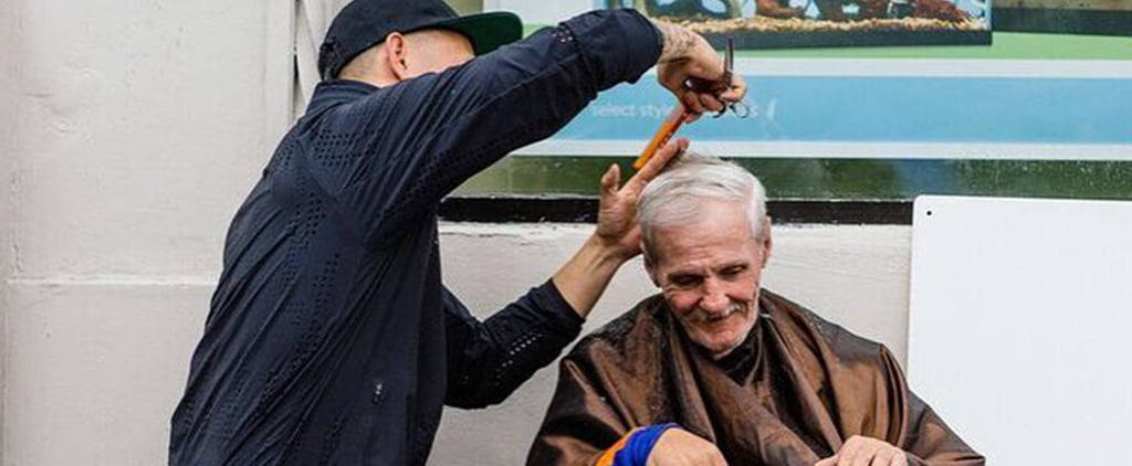 This Celebrity Hairstylist Cuts Homeless People's Hair For Free