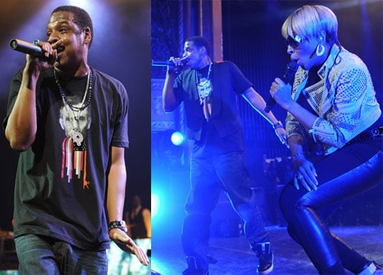 Jay-Z Performs Before Beyonce's Big Gala Performance