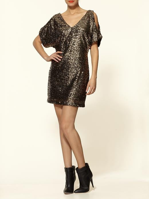 This one's just begging to be taken out on New Year's.  C.Luce Sequin Party Dress (approx $89)