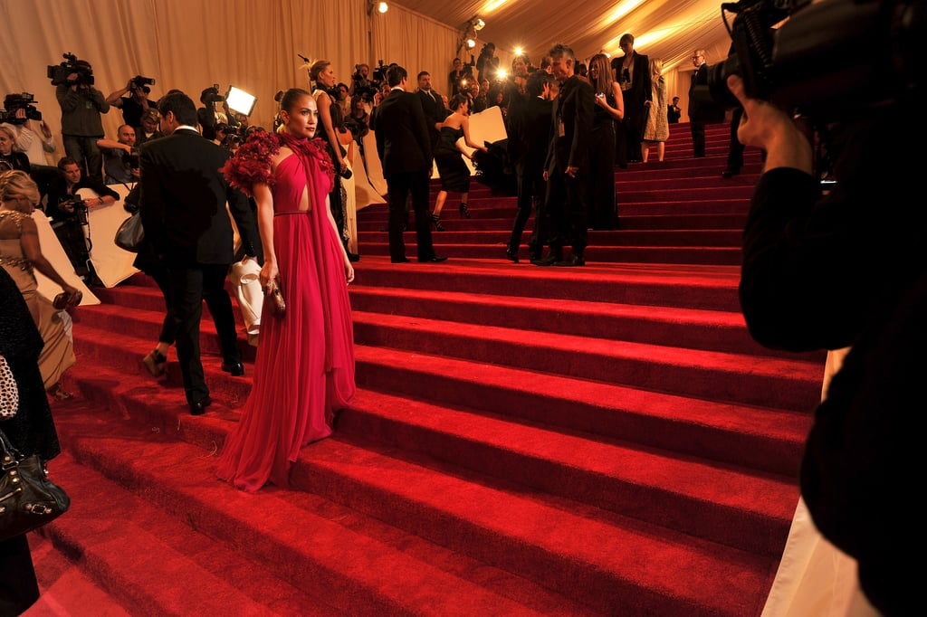 Jennifer Lopez Is a Met Gala Showstopper in Gucci With Marc on Her Arm