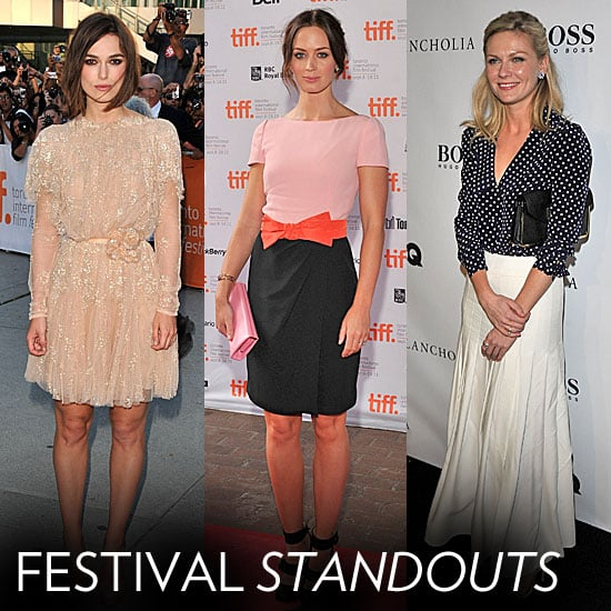 Pictures of Celebrities at the 2011 Toronto Film Festival including Angelina Jolie, Keira Knightley, Elizabeth Olsen and more!