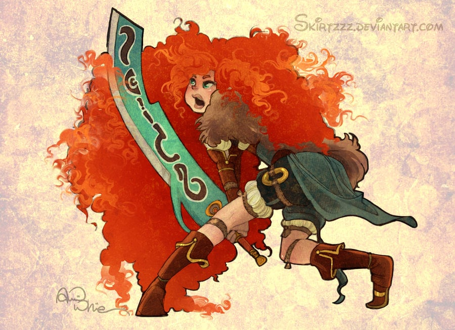 Warrior Merida