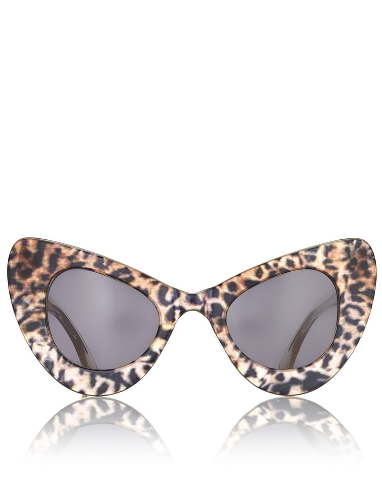 Sunglasses With Leopard Print