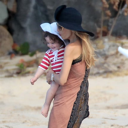 Rachel Zoe and Son Skyler in St. Barts | Pictures