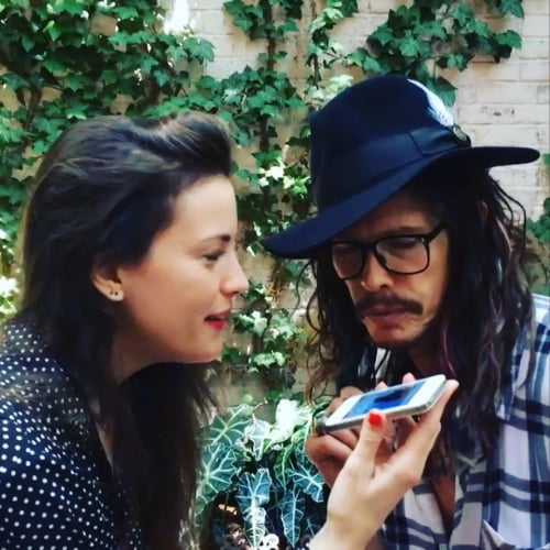 Liv Tyler and Steven Tyler Sing Together on Instagram