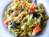 Lite'n it Up Group Feature: Vegetable Couscous
