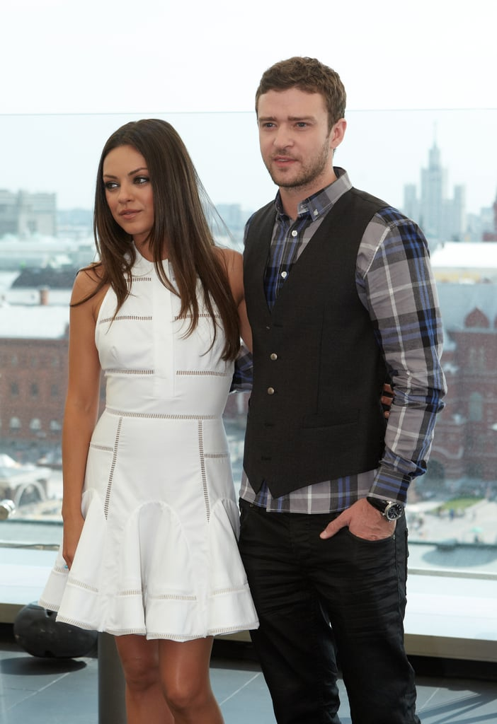 Justin Timberlake and Mila Kunis take Friends With Benefits promotion to Russia.
