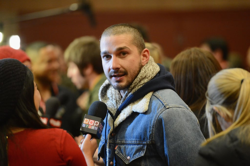 Shia LaBeouf and Pregnant Evan Rachel Wood Get Candid at Sundance