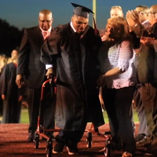 Teen With Cerebral Palsy Walks at Graduation (Video)