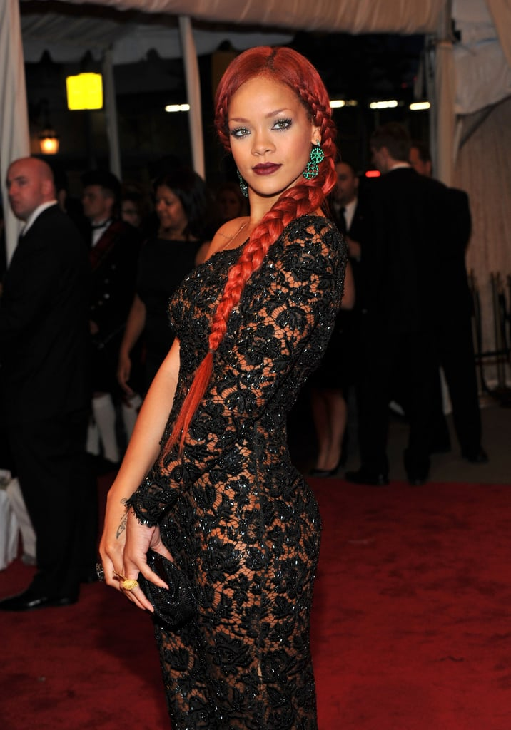Rihanna Gets Racy in a Sheer Stella McCartney Gown For the Met Gala