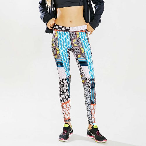 Printed Workout Pants