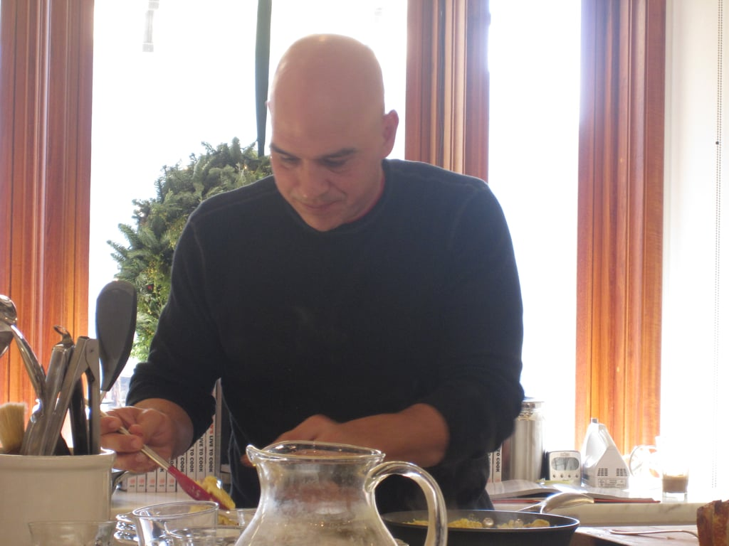 Michael Symon Makes Breakfast at Williams-Sonoma in San Francisco