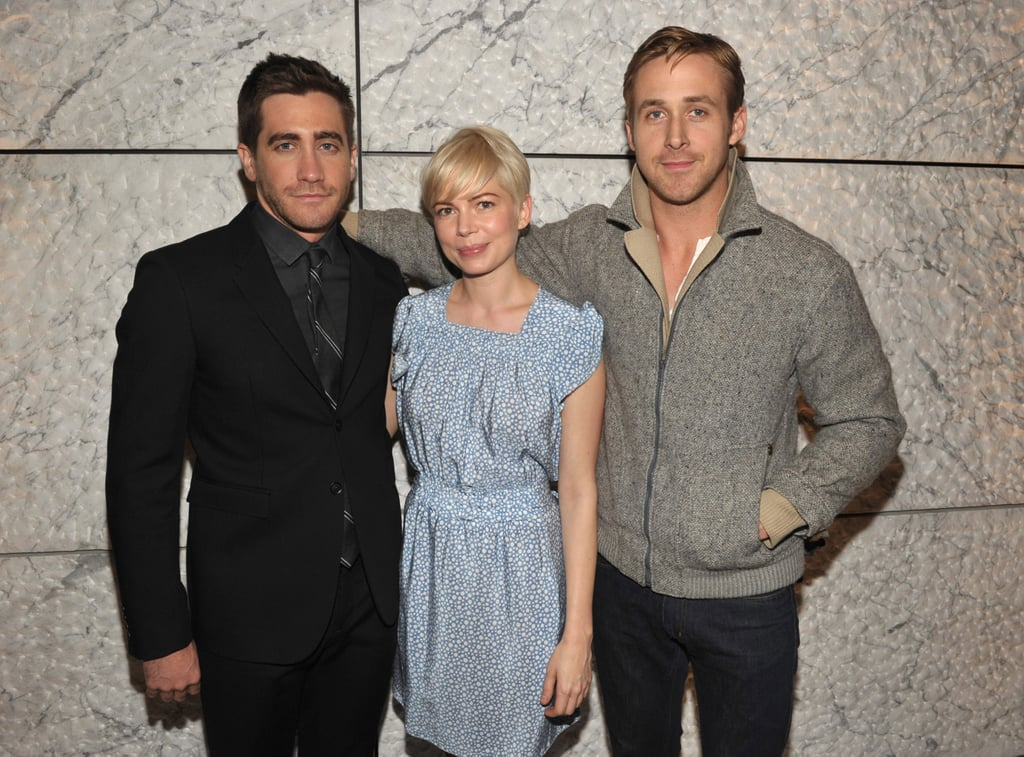 He hosted an LA screening of Blue Valentine for friends Ryan Gosling and Michelle Williams in December 2010.