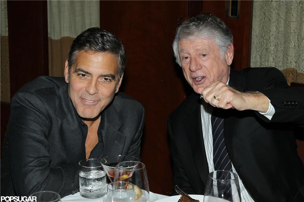George Clooney went to the NYC screening of Argo.