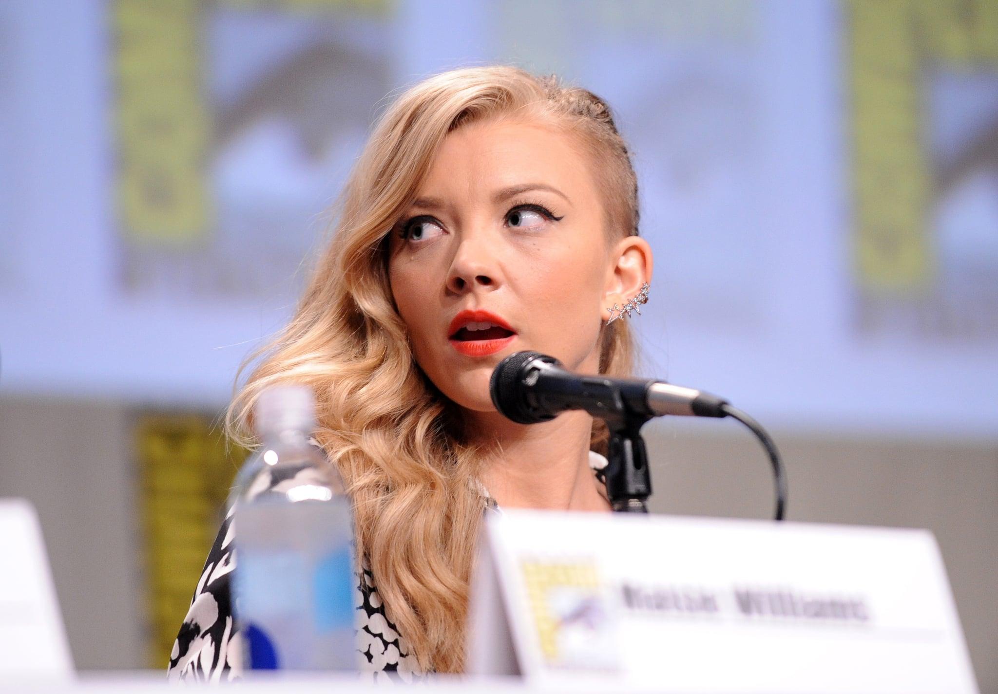 Natalie Dormer, Margaery Tyrell of Game of Thrones, Cressida of Hunger Games