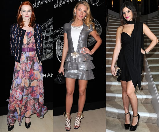 Only the Chicest Attend Chanel Dinner For Blake Lively in Paris