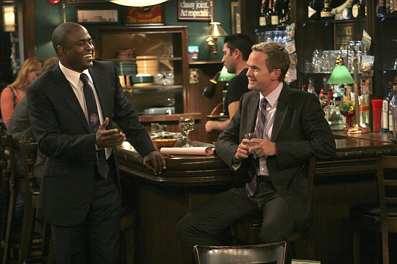 Barney having a gay black half-brother is the kind of unexpected development the How I Met Your Mother writers are known for.