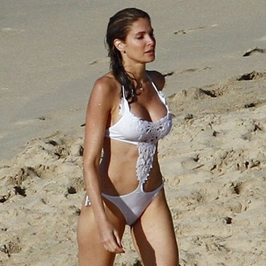 Stephanie Seymour Bikini Pictures in St. Barts 2011