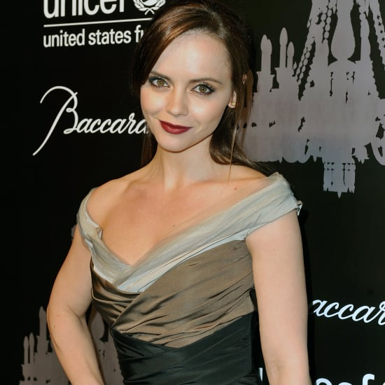 Christina Ricci in Carolina Herrera at UNICEF Snowflake Ball