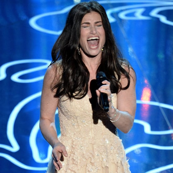 """Idina Menzel Sings """"Let It Go"""" at the Oscars"""